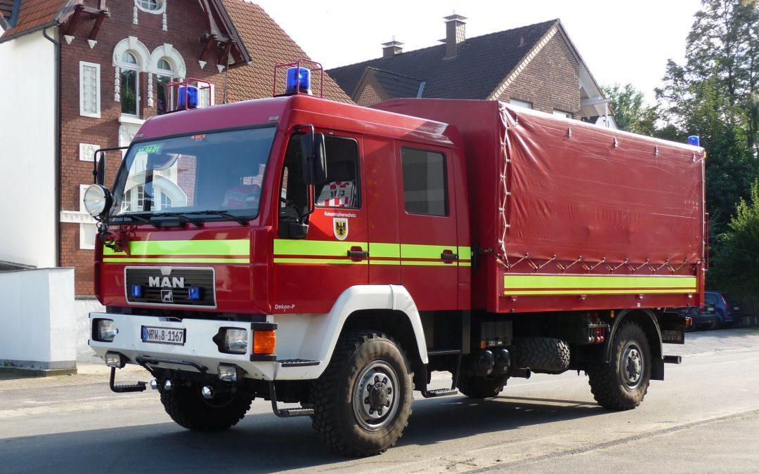 Gerätewagen Dekon-P (Allrad)