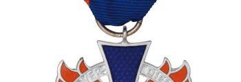1981 – Ehrung des Deutschen Feuerwehrverbandes