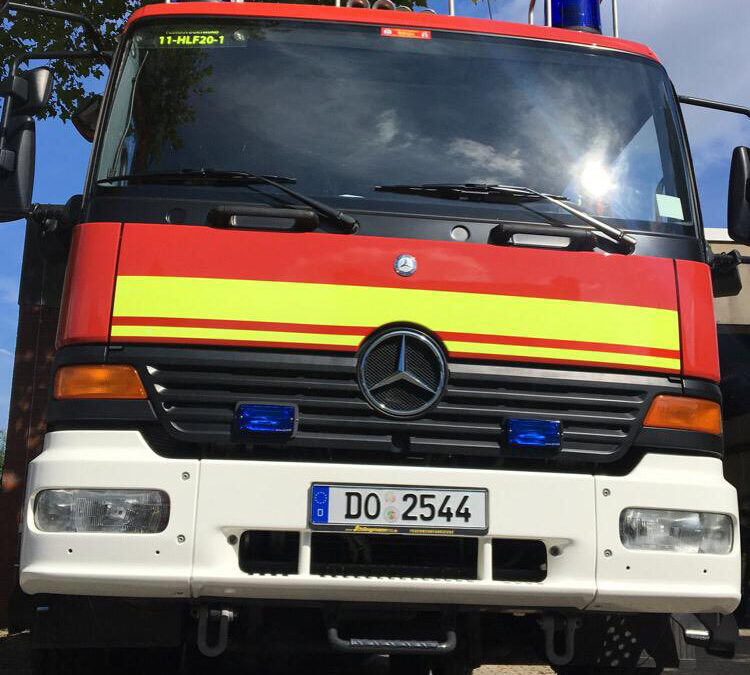 Einsatz: Kellerbrand in Dortmund-Sölde