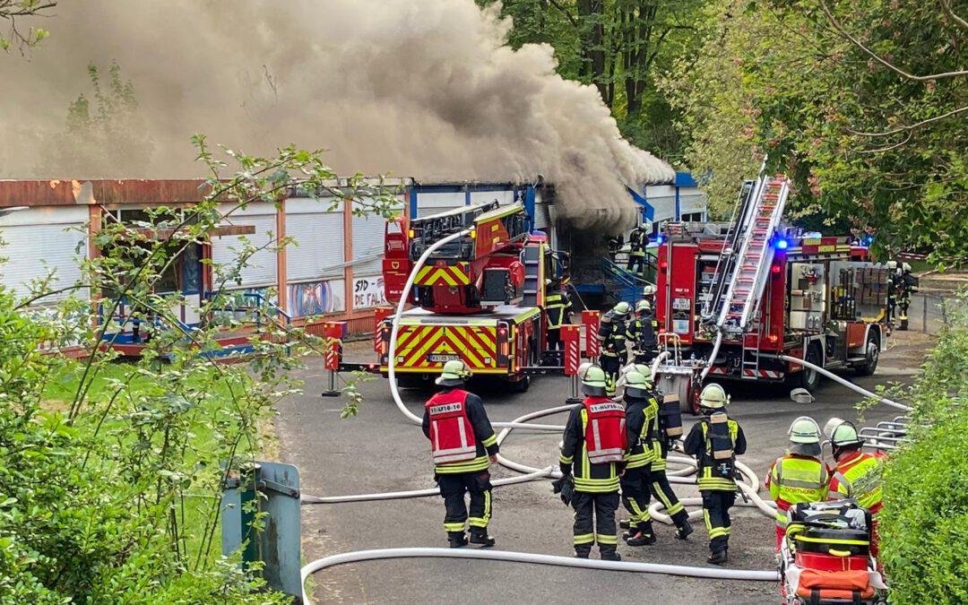 Einsatz: Brand einer KiTa in Neu-Asseln
